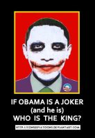 Who is King, Obama? by RedTusker