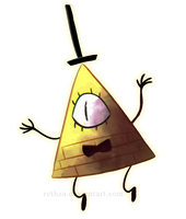 Bill Cipher by Rethza