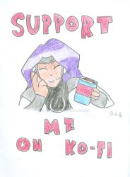 Support Me on Ko-fi 2018 by xmen1000