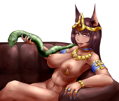 Egyptian goddess by NFuture