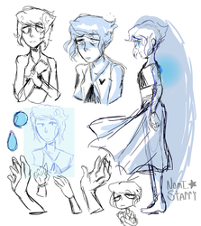 Lapis Doodles by Nomi-starry