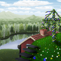Commission: Swedish Landscape by Lord-Evell