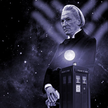 Doctor Who Artwork Test #3 by E-SPACE-Productions