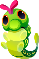 Caterpie #010