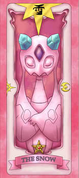 Sakura Pokemon Card 03: The Snow by gerugeon