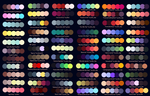 Colour Palettes No. 1 by Striped-Tie
