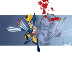LiL WOLVERINE by Chadfuller