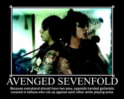 A7x Demotivational poster by ThatAvengedKid