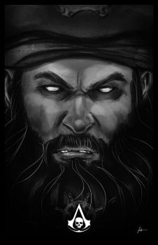 Blackbeard by IronWarrior777