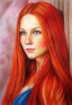 Redheaded by evlena