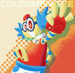 COLORMAN.EXE by EvilSonic2