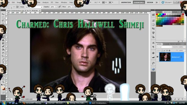 Charmed: Chris Halliwell Shimeji Download by TionneDawnstar