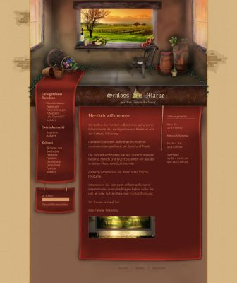 Wine-cellar - Website by medienvirus
