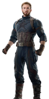 Infinity War Captain America (4) - PNG by Captain-Kingsman16