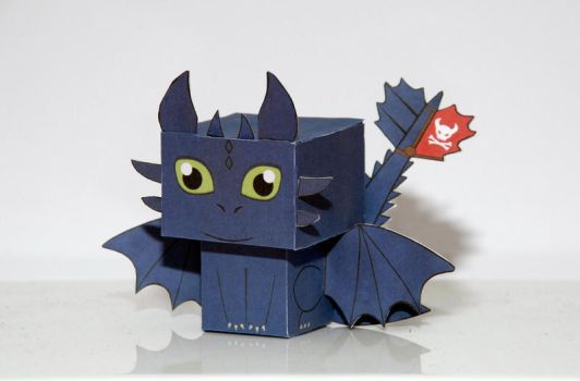 How to train your dragon Toothless by scarykurt