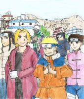 The Truth Decays  (NarutoxFMA) by Greys-Giovana
