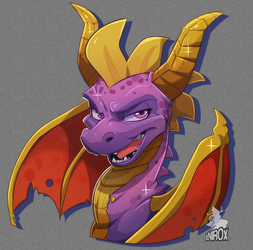 Another purple doodle by xNIR0x