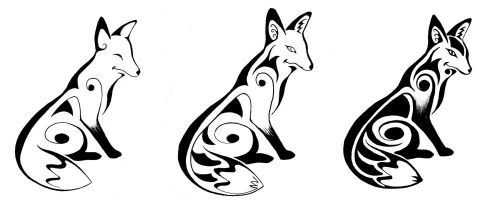 Foxes by ankewehner