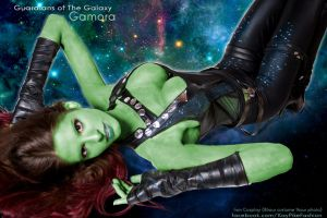 IRON COSPLAY Gamora Guardians of the Galaxy by KayPikeFashion