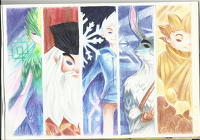 RISE OF THE GUARDIANS by equillybrium