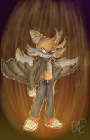 TFTL Super Tails  by b1uewhirlwind