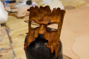 Tree Ent Handmade Leather Mask by OsborneArts