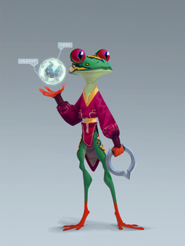 Frog explorer by Murfish