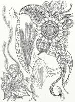 Page 15 of Australian Birds Adult Coloring Book by LorraineKelly