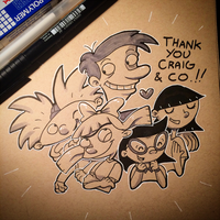 Hey Arnold - Thank you Craig and crew! by ARRKU