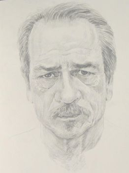 Tommy Lee Jones by John-Coltrane