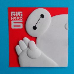 Paper Sculpture-Baymax by paperJin