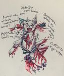 iNsAnItY ( Gore Cat warning ) by InvulnerableAJ