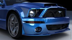 Ford Mustang Shelby GT Front by mpt1st