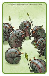 Mighty Monsters Bugs by Vaejoun