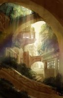 Overgrowth city by axl99
