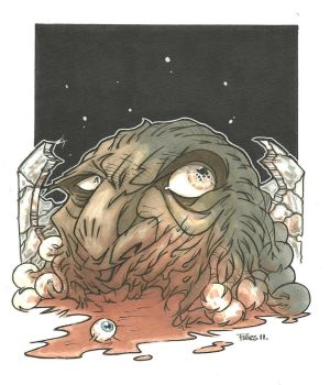 FACE OF BOE ZOMBIE VARIANT by leagueof1