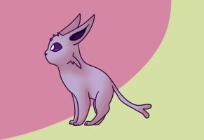 Espeon by FindingMindely