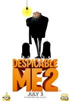 Despicable me 2 promotional poster by WKneeshaw