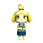 Isabelle Low Poly by LilSahtra