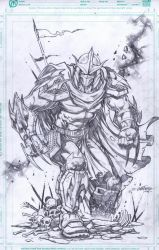 Shredder by emilcabaltierra