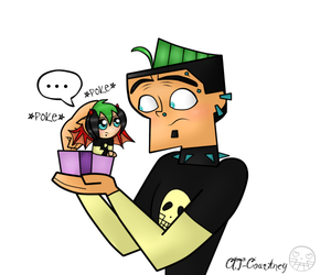 When Duncan meets Chibi Dunky by CIT-Courtney