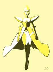 Steven Universe: Yellow Diamond by Atenovx