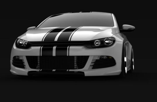 Scirocco render 2 by spittty