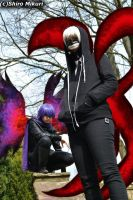 Tokyo Ghoul - Kaneki and Ayato by ArtisticJessy