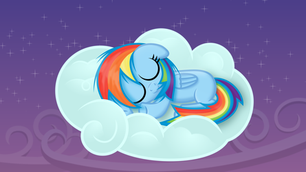 Sweet dreams, little pony by imageconstructor