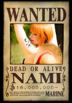 Wanted - Dead or Alive  ~Nami~ by YukinaCosplay