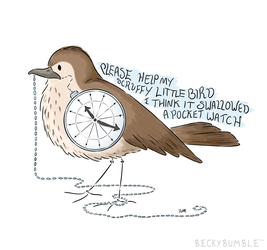 Pocket Watch by BeckyBumble