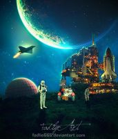 Earth Or Planet by fadlie666