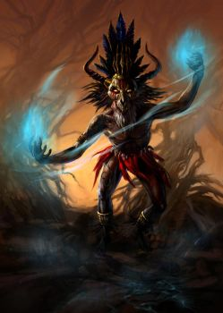 Witch-doctor-final by jhuertajr