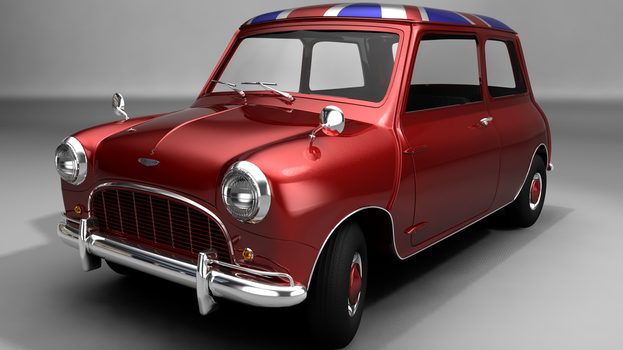 Beloved car, now in 3D O-o' by bagienny